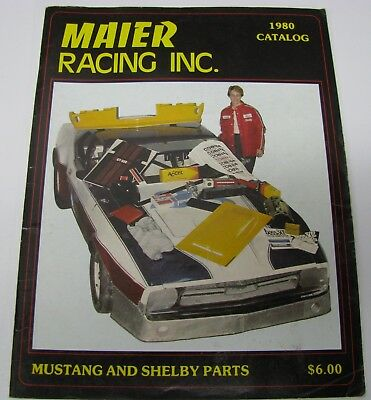 Maier Racing Catalog, 1980, Mustang, Shelby