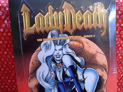 Lady Death Chromium Trading Cards, Series Ii, Factory Sealed Box