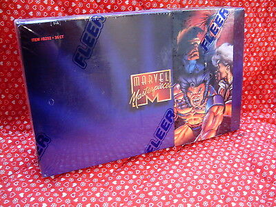 Marvel Masterpieces 1995 Trading Cards, Factory Sealed Box