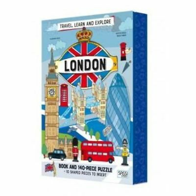 Sassi Travel, Learn and Explore - London Puzzle & Book Set