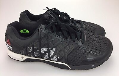 7941e569fed REEBOK CROSSFIT NANO 4.0 Mens Training Shoes Size 12 Black White ...