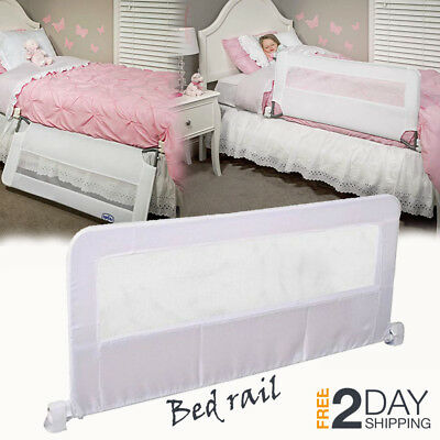 New Swing Down Bedrail Bed Rail Crib Toddler Elderly Child Safety Net Guard 43""