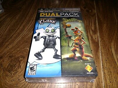 Secret Agent Clank & Daxter Dual Pack (Sony PSP) NEW Factory Sealed