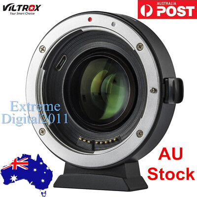 *AU Stock* Viltrox EF-EOS M2 II AF Lens Adapter for Canon EF Lens to EOS-M50 M10