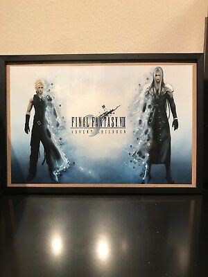 Final Fantasy Vii Poster With Frame