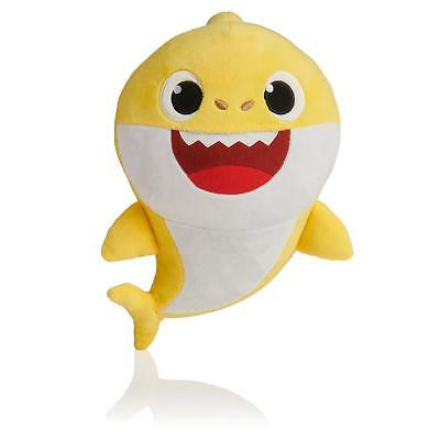 Yellow Baby Shark Official English Singing Plush WowWee USA Hot Toy IN HAND