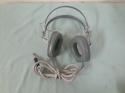 Vintage Sony dr-3a headphones audiophile stereo mid century great shape