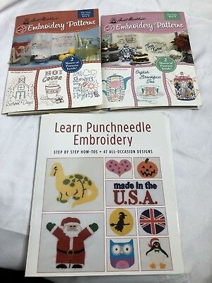Punchneedle Embroidery Patterns