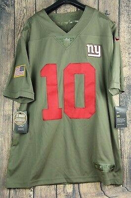 Nike New York Giants Eli Manning Salute To Service Limited Jersey Mens Large  NWT b4418bc19