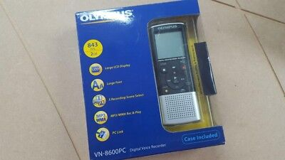 Olympus VN-8600PC - Digital Voice Recorder  2 GB Black/Silver