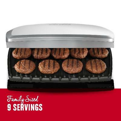 George Foreman 9-Serving (FAMILY) Classic Plate Grill & Panini Press 144 SQ IN.