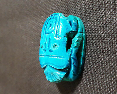 Egyptian Египет Ägypten Pharaoh Scarab Paperweight Sculpture,Hand Carved colors
