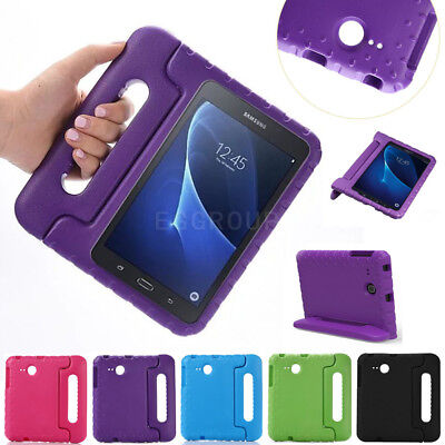Kids Shock Proof EVA Foam Handle Stand Case Cover For Samsung GALAXY TabA 7 T280