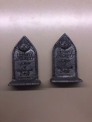 A Series Of Unfortunate Events Bookends