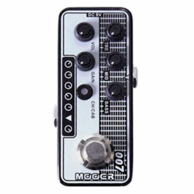 Mooer Regal Tone 007 Digital Micro PreAmp Guitar Effects Pedal New