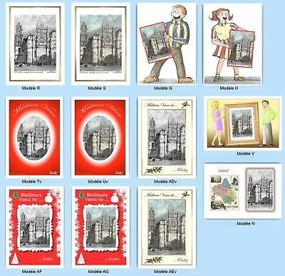 Cp Cpa Cpm Cpsm 12 Cartes Postales Multi Version 2 12024 Rodez