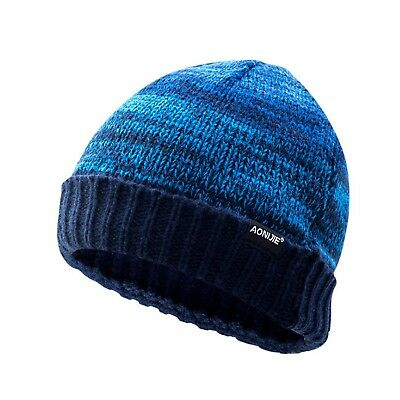Knitted Hat Men Women Autumn Winter Running Hiking Traveling Breathable Caps