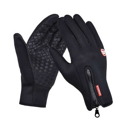Outdoor Sports Hiking Winter Gloves Windstopper Touch Screen Bicycle Warm Mitten