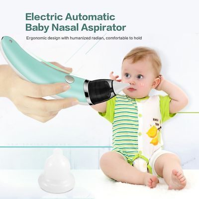 Kid Nasal Aspirator Electric Nose Cleaner Sniffling Equipment Safe Hygienic Care