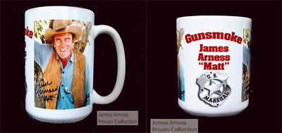 James Arness Private Collection Gunsmoke 2018 Collector's Mug