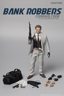 """Craftone 1/6 Scale """"Bank Robbers - Criminal Crew CT-006B"""""""