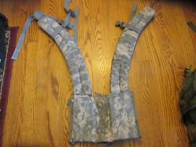 Molle ll Enhanced Shoulder Straps in Excellent Condition! US GI Ready to Fight!
