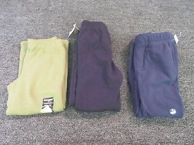 3 Boys Youth Size 5/6 Sweatpants Clothes Lot Joe Boxer Toughskin Athletic Sport