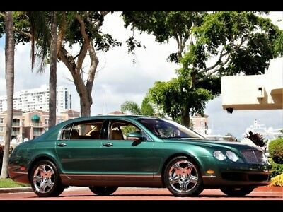 2006 Bentley Continental Flying Spur 17K Miles PRUCE GREEN ONLY 17K MILES! CHROMED WHEELS SOLAR PANEL CLEAN CARFAX