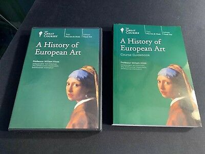 The Great Courses: A History Of European Art (DVD, 8 Disk Set)