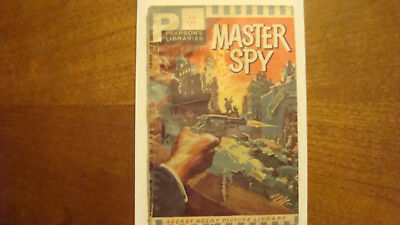 Pearson's Secret Agent Picture Library No 4 - Master Spy