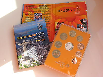 Slowakei 2016 Kms Coin Set Pp Proof - Olympische Sommerspiele In Rio De Janeiro
