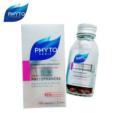 PHYTO PARIS Phytophanere Hair And Nails Dietary Supplement 120 Caps #da