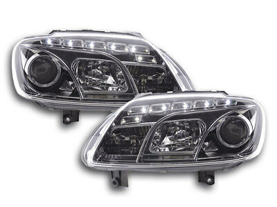 Scheinwerfer Daylight VW Touran Typ 1T / VW Caddy Typ 2K Bj. 03- chrom