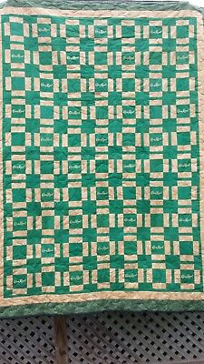 Crown Royal Quilt Green Apple 60x80