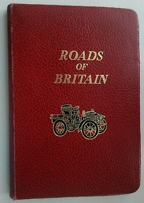 Roads Of Britain 1969 Johnston's Handy Road Atlas Of Gb & Ni, 10 Miles To 1 Inch