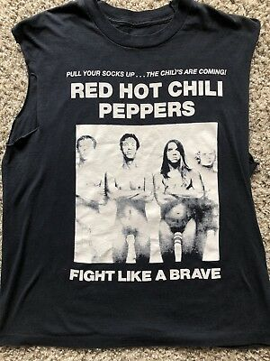 71c231df VINTAGE 1992 RED Hot Chili Peppers Frank Kozik Shirt - $312.00 ...