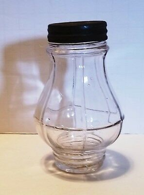 Antique Sugar Shaker PAT DEC 20 1904 Molded Clear Glass