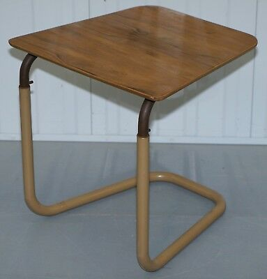 Stamped By Appointment To H.m The Queen & King George Vi Height Adjustable Table