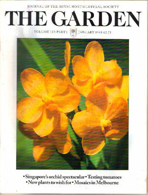 RHS The Garden magazine, Jan 1998, Volume 123 Part 1