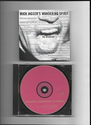 MICK JAGGER - WANDERING SPIRIT : THE INTERVIEW CD Promo Only 59:50 36 Tracks NEW