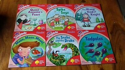 Oxford Reading Tree Songbirds Phonics Collection level 4- J.Donaldson -x 6 Books