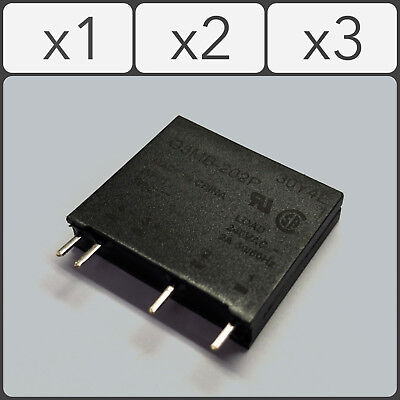 Solid State Relay G3MB-202P DC-AC PCB SSR In 5VDC Out 240V AC 2A