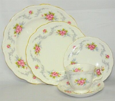 1- Royal Albert Tranquillity 5 piece Place Setting ( 12 Available )