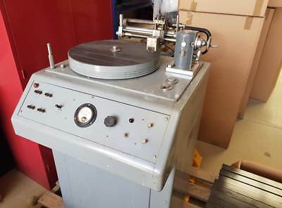 Nilsens Record Lathe Cutter with Grampian Cutting Head and Amp