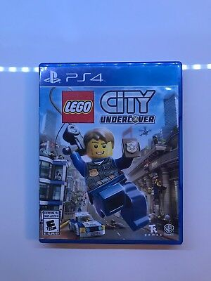 LEGO City Undercover Ps4 Playstation 4 Game