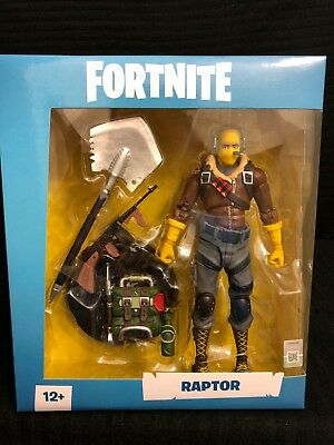 Fortnite Raptor 7 inch Action Figureby McFarlane - IN HAND - SHIPS TODAY!