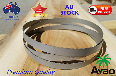AYAO BI METAL BAND SAW BANDSAW BLADE 3X 1575mm x13mm x 14 TPI FOR METAL CUTTING