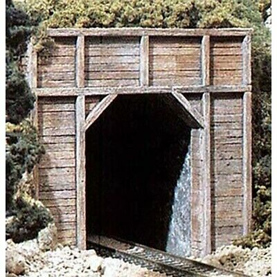 N Scale Single Track Timber Tunnel Portals #C1154 Woodlands