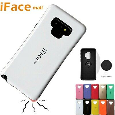 iFace mall Heavy Duty Shockproof Hard Case Cover For Samsung Note 9 8 S9 S8 Plus