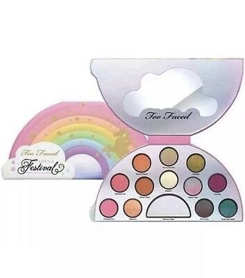 Too Faced LIFE'S A FESTIVAL Eye Shadow & Highlighter Palette - Limited Edition